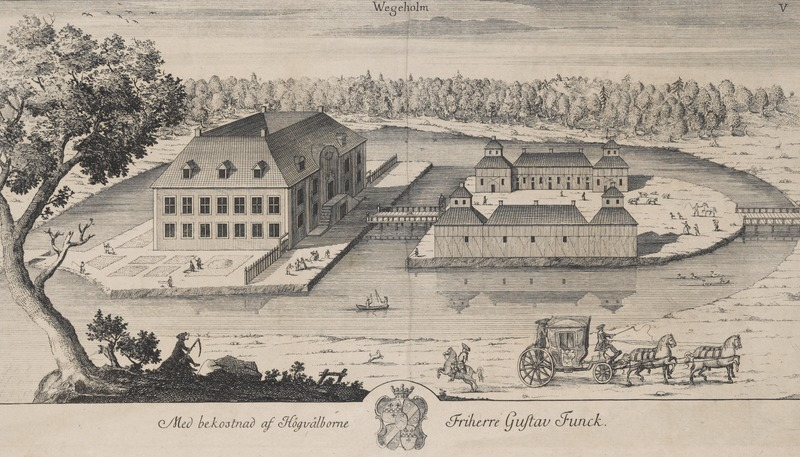 File:Vegeholm Castle in 1680.tif