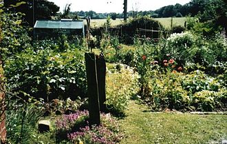 Dial House, Essex - The vegetable garden