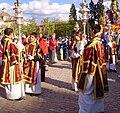 Venerable Hermandad del Santísimo Cristo de la Lanzada y María Santísima de la Caridad, Granda, Semana Santa 2009 (8).JPG