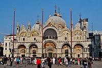 Venezia Basilica di San Marco Fassade 2.jpg