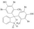 Verde di bromocresolo struttura.PNG