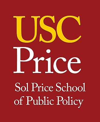 USC Sol Price School of Public Policy - Image: Vertical Formal Sol Price Gold On Card
