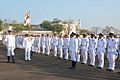 Vice Admiral Satish Soni inspecting a guard of honour.jpg