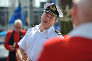 Fourth Sea Lord - Image: Vice Admiral Simon Lister
