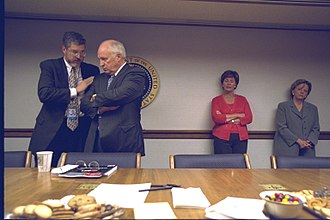 David Addington - David Addington speaking to Vice President Cheney on September 11, 2001