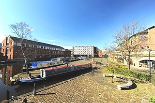Victoria Quays wharf in Sheffield, UK