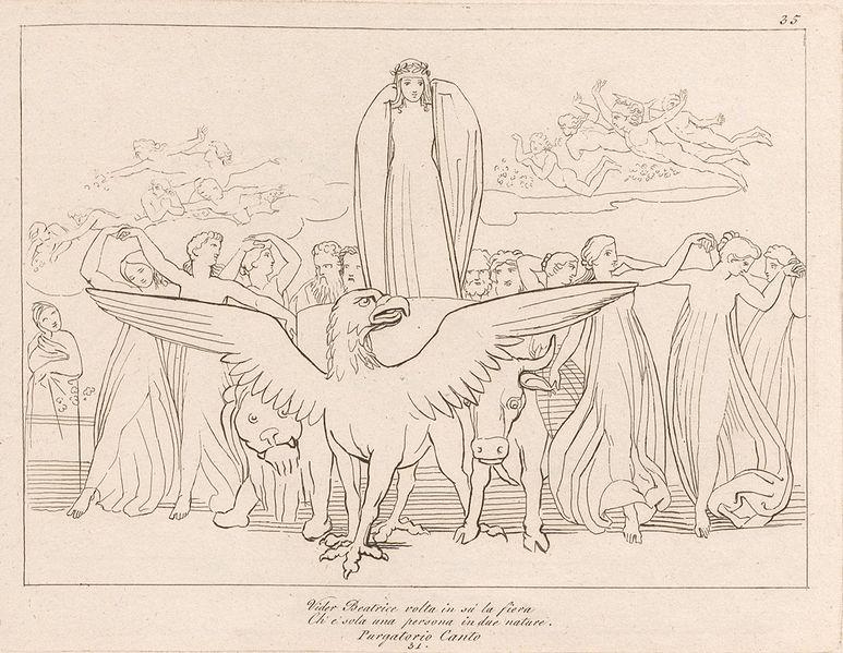 Hippogriffe ou Griffon de Dante