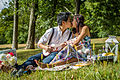 Vietnamese male and female having a picnic 02.jpg
