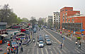 View N along Chaoyangmen N alley from overpass at Chaoyangmen Inner St intersection.jpg