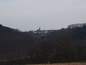 Biersdorf am See - Image: View at Biersdorf am See from Ferienstrasse