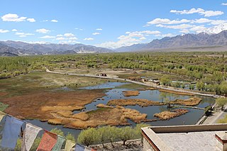 Shey Village in Ladakh, India