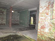 View inside the receiver block at RAF Dry Tree