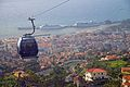 View of Funchal from the Teleferico wagon. Madeira, Portugal.jpg