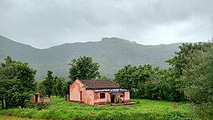 Kenjalgad - Image: View towards Kenjalgad 433414386