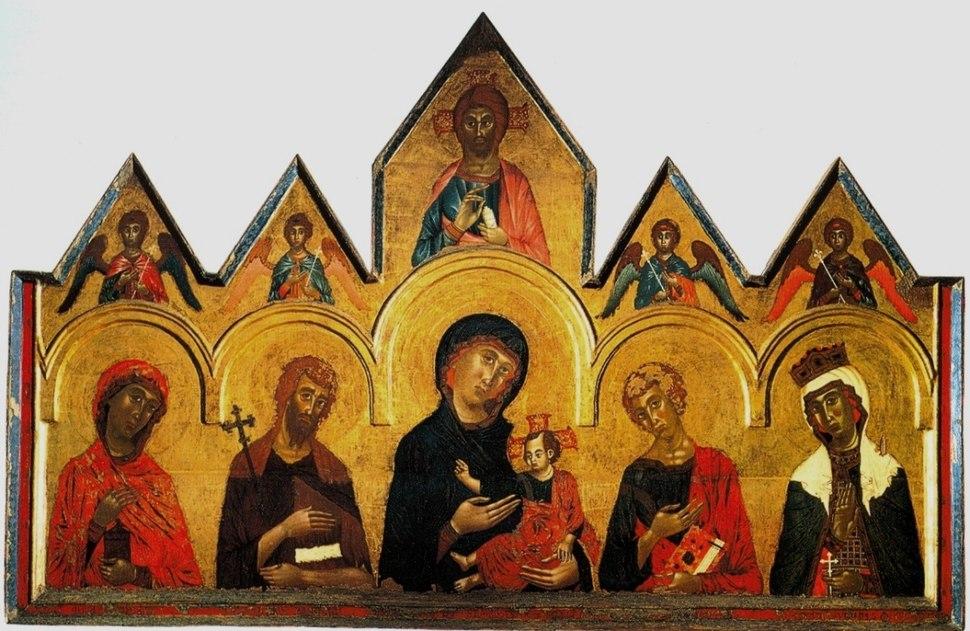 Vigoroso da siena1291г из цистерцианского монатыря санта джулия