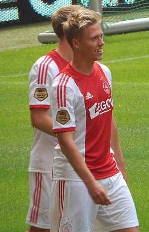 Viktor Fischer - Fischer playing for Ajax in 2013
