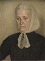 Vilhelm Hammershøi - Frederikke Amalie Hammershøi, f. Rentzmann, kunstnerens moder - KMS3295 - Statens Museum for Kunst.jpg