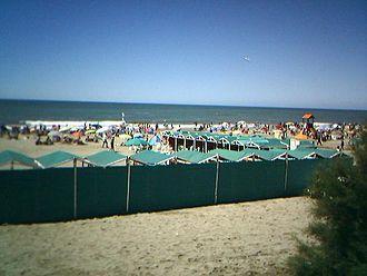 Villa Gesell - A Villa Gesell beach.