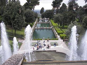 Giardino all'italiana - Garden of Villa d'Este.