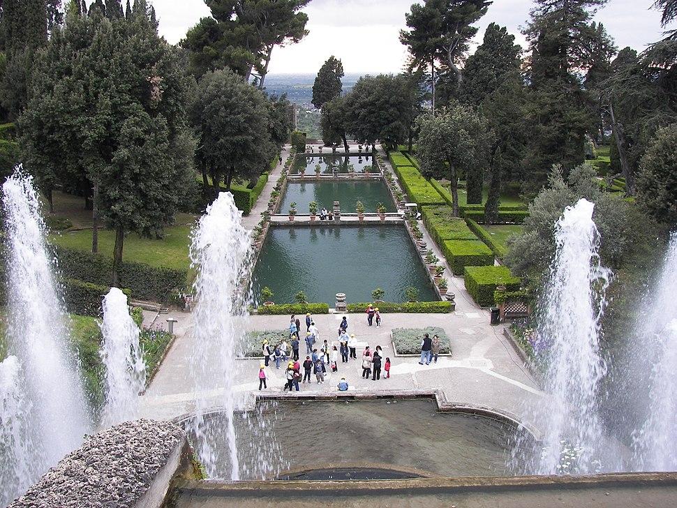 Villa d'Este fountain and pools