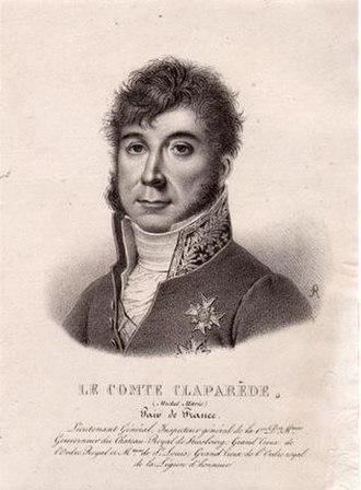 Michel Claparède - Image: Villain Michel Marie Claparède (1770 1842) French General Peer of France
