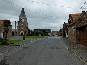 Villers-lès-Cagnicourt - The centre of Villers-lès-Cagnicourt