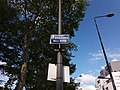 Villeurbanne - Boulevard Niels Bohr, plaque.jpg