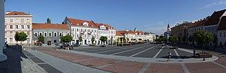 Town Hall, Vilnius - Vilnius Town Hall Square after reconstruction