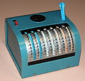 Vintage Swift Mechanical Calculator, Made In Hong Kong (16040105989).jpg