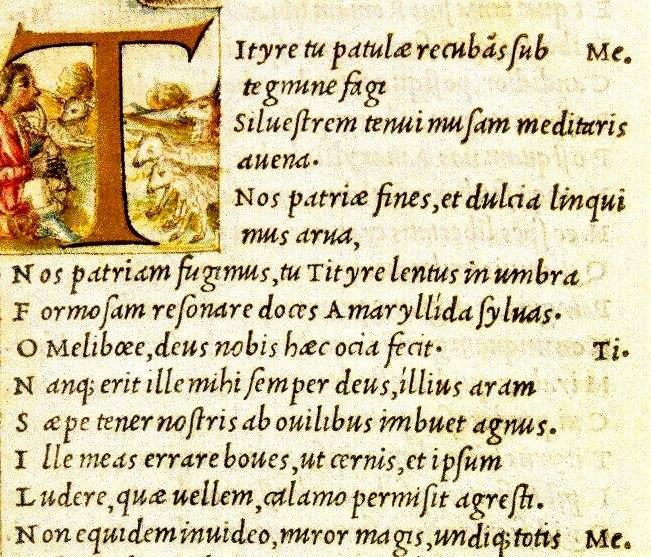Virgil 1501 Aldus Manutius (Italika)