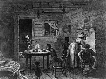 Visit of the Ku-Klux (desenho de 1872). Neste mesmo ano, a Ku Klux Klan foi reconhecida como uma entidade terrorista.