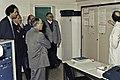 Visite de Mr Bichat et du secrétaire d'état à la recherche à l'INRA de Versailles-5-cliche Jean Weber.jpg