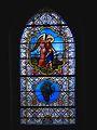 Vitrail Tobias et Archange Raphael Eglise Notre Dame de Pitié de Malleval (Loire).jpg