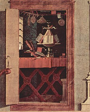 St. Augustine in His Study (Carpaccio) - Image: Vittore Carpaccio 036