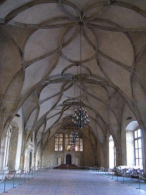Vladislaus II of Hungary - Vladislav Hall within the Prague Castle