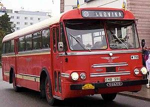 Bus doors - Image: Volvo B655 Bus 1963