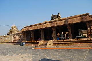 Vontimitta Temple Town in Andhra Pradesh, India