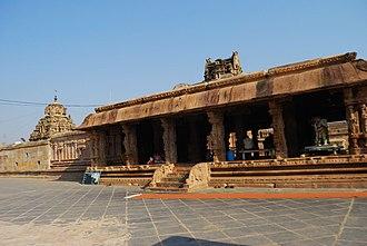 Kodandarama Temple, Vontimitta - View of Rangamantapam inside the temple
