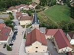 Vue aérienne de l'église de Saint-Lupicin.JPG
