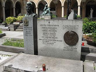 Antonín Benjamin Svojsík - Image: Vysehrad Antonin Benjamin Svojsik