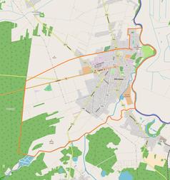 Mapa lokalizacyjna Włodawy
