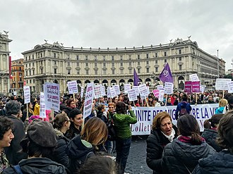 International Day for the Elimination of Violence against Women - Image: WDG March for Elimination of Violence Against Women in Rome (2018) 2