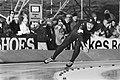 WK Sprint schaatsen in Alkmaar. De Rus Klebnikov in aktie, Bestanddeelnr 931-9572.jpg