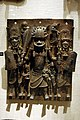 WLA metmuseum Plaque Warrior and Attendants Edo Court of Benin.jpg