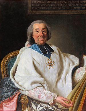 Charles Antoine de La Roche-Aymon - Portrait by Alexander Roslin, 1769