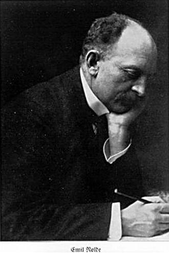 Emil Nolde - Emil Nolde in a picture taken in 1929