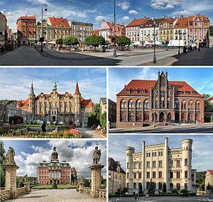 Wałbrzych - Main sights in Wałbrzych