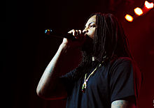 Waka Flocka @ Aug 2 2014 @ London Music Hall (14662123919).jpg
