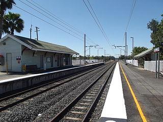 Walloon railway station railway station in Queensland, Australia