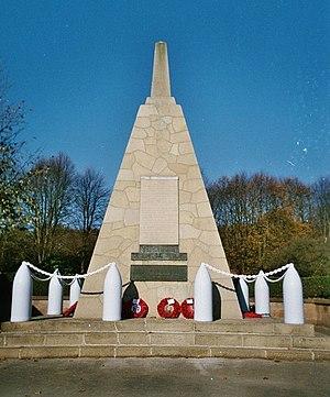 National Shell Filling Factory, Chilwell - Memorial obelisk